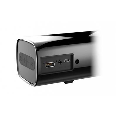 Caixa de Som Soundbar Creative Pebble Compacto Sage Air, Bluetooth, USB/P2, 10W RMS, Preto - 51MF8355AA000