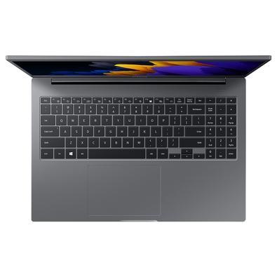 Notebook Samsung Book E20 Intel Celeron 6305, 4GB, 500GB HD, 15,6´ LED Full HD, Windows 10 Home, Cinza Chumbo - NP550XDA-KO1BR