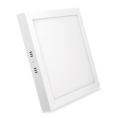 Painel de Sobrepor Elgin 18W Quadrada, WiFi, Cor Branco Frio e Branco Morno, Suporta Controle de Voz - 48D18WSQWIFI