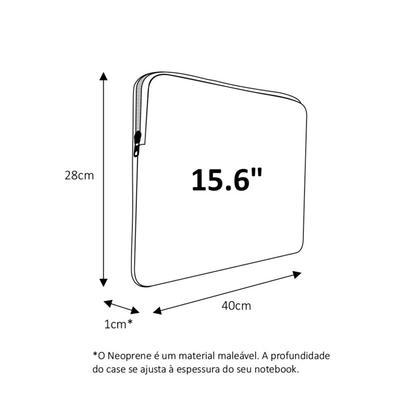 Case para Notebook Reliza 15.6´ Slim, Onça - 6359