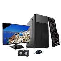 Computador ICC IV2540K2WM19 Intel Core I5 3.20 ghz 4GB HD 250GB Kit Multimídia HDMI FULLHD Monitor LED 19,5 Windows 10.