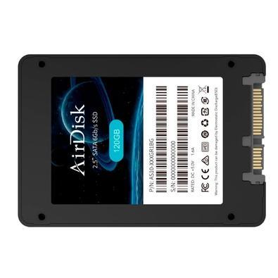 SSD AirDisk 120GB, 2.5´, SATA III, Leitura: 550 MB/s e Gravação: 450 MB/s - AS10-120GR1BG