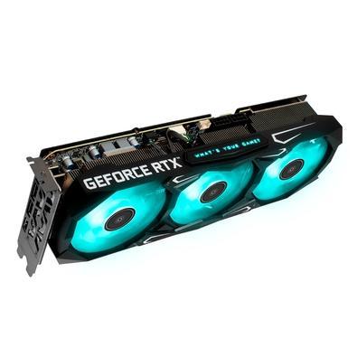 Placa de Vídeo Galax Geforce RTX 3070 Ti SG LHR , 19 Gbps, 8GB GDDR6X, RGB, Ray Tracing, DLSS - 37ISM6MD4BSG