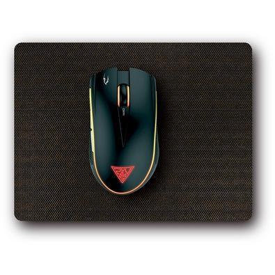 Kit Gamer Gamdias Mouse Zeus E2, 3200DPI, 6 Botões + Mousepad Nyx, Preto - ZEUS E2