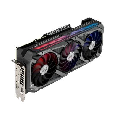 Placa de Vídeo Asus ROG STRIX RTX 3070 Ti O8G Gaming LHR, 19 Gbps, 8GB GDDR6X, Ray Tracing, DLSS, RGB - 90YV0GW0-M0NA00