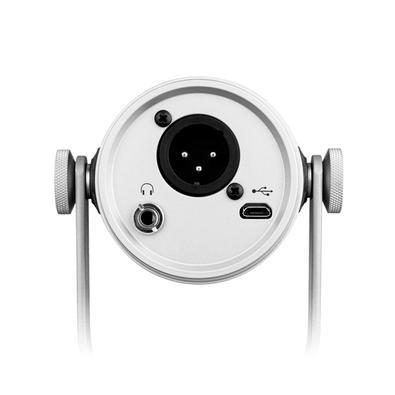 Microfone Shure MV7-S Dinâmico, XLR/USB, com Isolamento de Voz - MV7-S