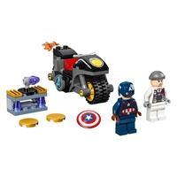 LEGO Super Heroes - O Confronto entre Capitão América e Hydra, 49 Peças - 76189