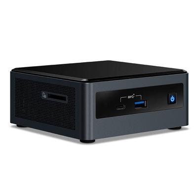 Mini PC NUC Intel Core i3-10110U, 4GB RAM, SSD 240GB, WiFi, Linux - NUC101104240