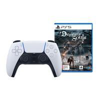 Controle Sem fio PS5 DualSense + Jogo Demon´s Soul´s PS5
