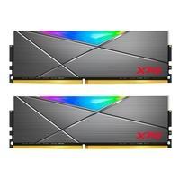 Memória XPG Spectrix D50, RGB, 32GB (2x16GB), 4133MHz, DDR4, CL19, Cinza - AX4U413316G19J-DT50