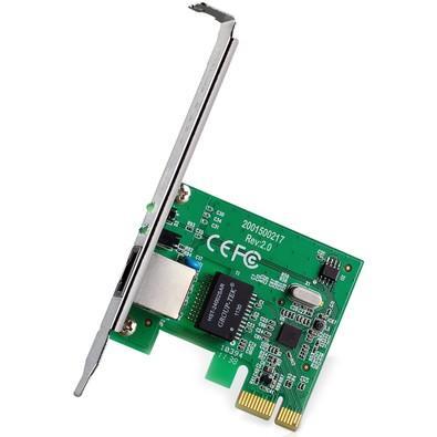 Adaptador de Rede TP-Link, Gigabit, PCI Express, 10/100/1000Mbps, RJ45, Rev. 2.0 - TG-3468