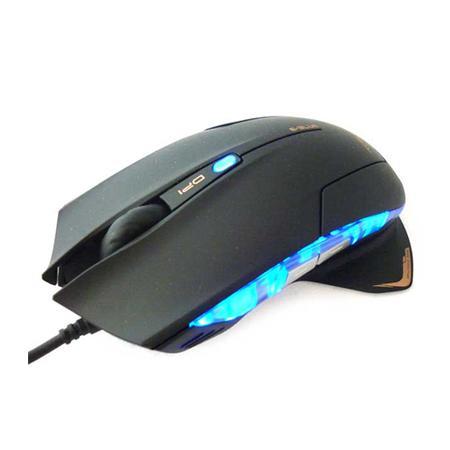 Mouse Usb Óptico Led 2400 Dpis Mazer E-blue