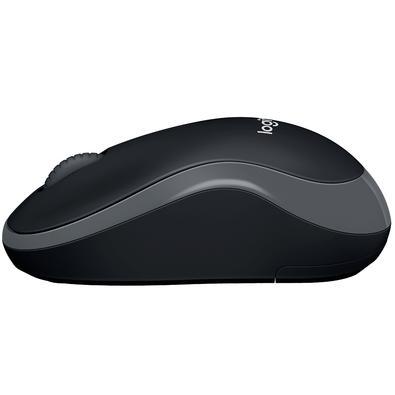 Mouse Logitech M185 Sem Fio Cinza 1000DPI