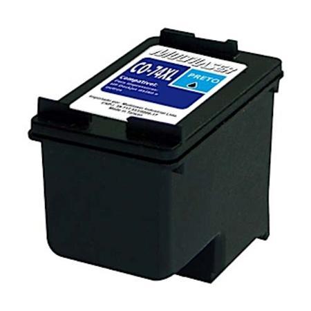 Cartucho de Tinta Multilaser CO74XL para HP Preto - CO74X