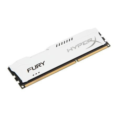 Memória Kingston HyperX FURY 4GB 1866Mhz DDR3 CL10 White - HX318C10FW/4