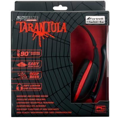 Headset Fortrek Spider Tarantula SHS702 Preto/Vermelho 54221