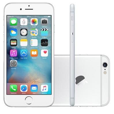 Apple Iphone 6 Plus, Chip A8, Ios 8, Tela 5.5´, 64gb, Câmera 8mp, 4g, Desbloqueado Mg9v2/a - Prata