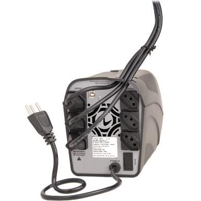 Nobreak Ragtech Easy Way 1200 STD-TI BLACK 60HZ 115-127-220V (4137)