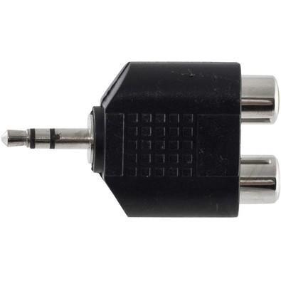 Adaptador 2RCA F x P2 M stéreo HA044 HYX H PCT/2