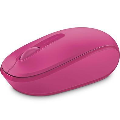 Mouse Óptico Microsoft 1850 sem Fio U7Z-00062 Pink