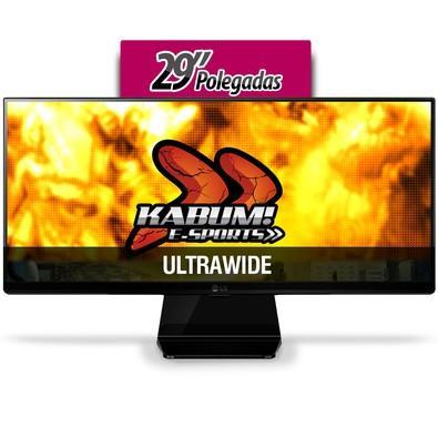 Monitor Gamer LG LED 29´ Ultrawide, Full HD, IPS, HDMI/DVI/Display Port, FreeSync, Som Integrado - 29UM67