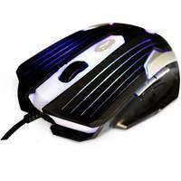 Mouse Gamer C3 Tech 2400DPI com Iluminação Preto MG-11BSI