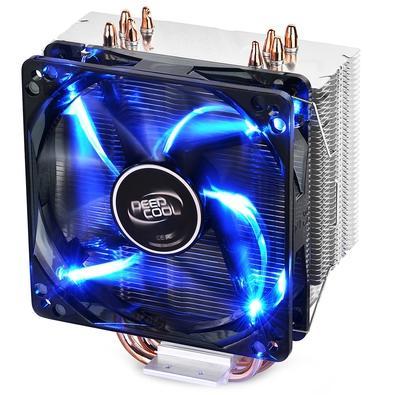 Cooler para Processador DeepCool Intel/AMD GAMMAXX 400 Silente 120mm PWM Fan With Blue Led Light - DP-MCH4-GMX400