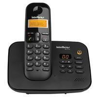 Telefone Intelbras sem Fio Secretária Eletrônica TS3130 Preto - 4123130
