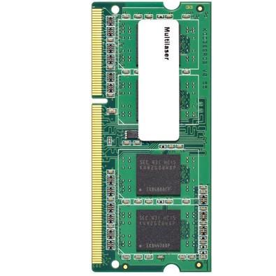 Memória Multilaser 4GB, 1600MHz, DDR3, Notebook, CL11 - MM420