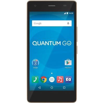Smartphone Quantum Go, 16GB, 13MP, Tela 5´, Dourado