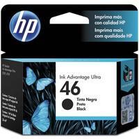 Cartucho de tinta HP 46 Preto - CZ637AL