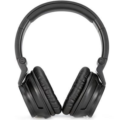 Fone de Ouvido Headphone Com Microfone Dobrável Preto Hp H3100