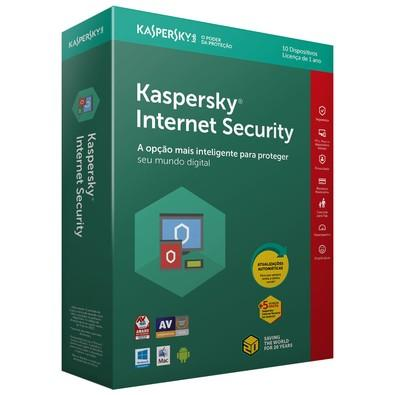 Kaspersky Internet Security 2018 Multidispositivos 10 PCs