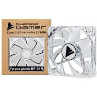 Cooler FAN Bluecase Gamer 120mm LED Vermelho BF-01R