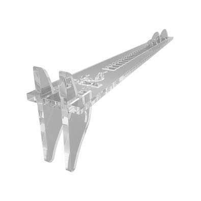 Suporte para Placa de Vídeo VGA Rise Transparente RM-SV-01-AQ