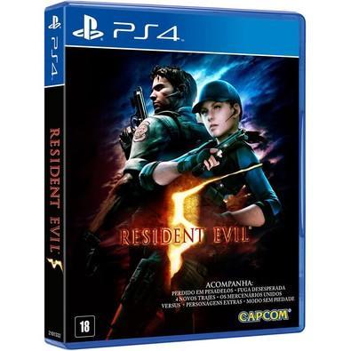 Game Resident Evil 5 PS4
