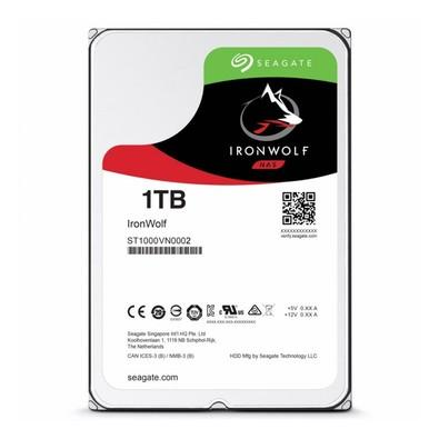 HD Seagate IronWolf NAS, 1TB, 3.5´, SATA - ST1000VN002