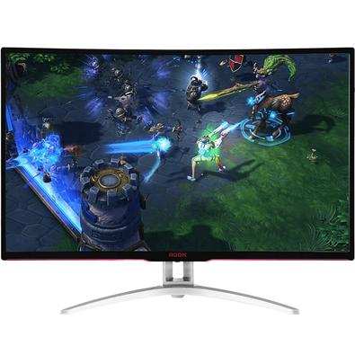 Monitor Gamer AOC Agon LED 32´ Widescreen Curvo, Full HD, HDMI/VGA/DVI/Display Port, FreeSync, 144Hz - AG322FCX