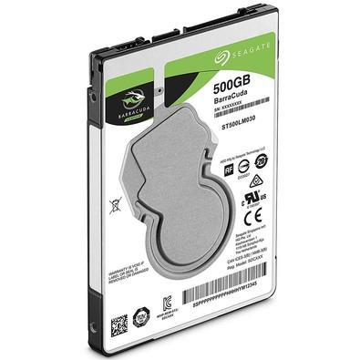 HD Seagate BarraCuda, 500GB, 2.5´, Notebook, SATA - ST500LM030