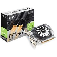 Placa de Vídeo MSI NVIDIA GeForce GT 730 2GB, DDR3 - N730-2GD3V3