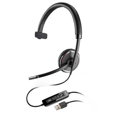 Headset Plantronics Blackwire com fio USB, tecnologia Smart Sensor C510