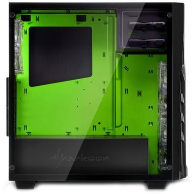 Gabinete Sharkoon Green ATX com Vidro Lateral Temperado - DG7000-G