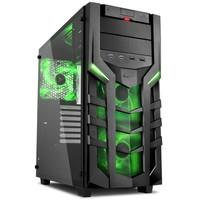 Gabinete Sharkoon Green ATX com Vidro Lateral Temperado - DG7000-G