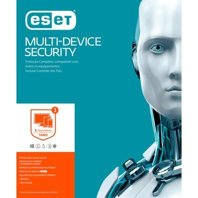 ESET Multi-Device Security 3 Dispositivos - Digital para Download
