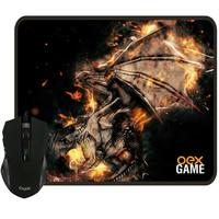 Kit Gamer OEX Game Arena - Mouse LED + Mousepad Pequeno - MC102