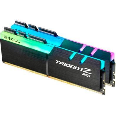 Memória G.SKill Trident Z RGB 16GB (2x8GB) 3600MHz DDR4 CL 16 - F4-3600C16D-16GTZR
