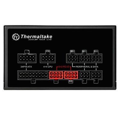 Fonte Thermaltake 750W 80 Plus Bronze Modular RGB - PS-SPR-0750FPCBUS-R