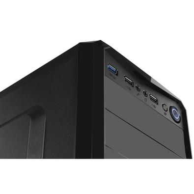 Gabinete NOX PAX ATX, USB 3.0, Iluminação de LED Azul - NXPAX