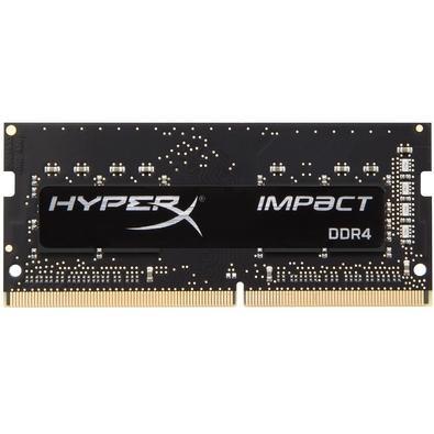 Memória HyperX Impact, 8GB, 2400MHz, DDR4, Notebook, CL14, Preto - HX424S14IB2/8