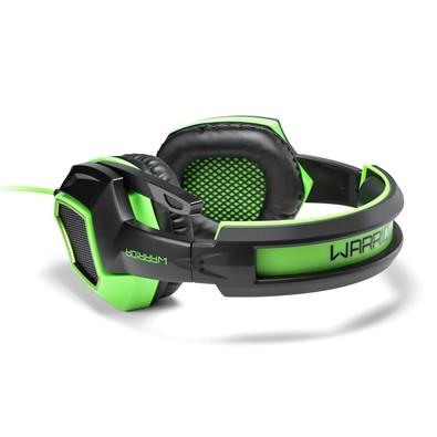 Headset Gamer Warrior 7.1 USB com LED Verde - PH224 | KaBuM!